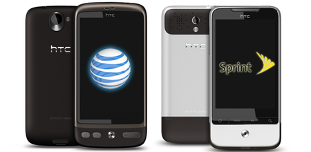 AT&T gets Desire, Sprint gets Hero2