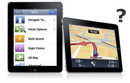 TomTom: Jury still out on iPad Satnav version, keeping quiet on Android