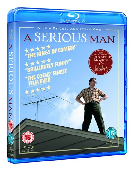 Win one of three copies of A Serious Man on Blu-ray