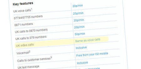 O2 updates iPhone tariff to include video calls