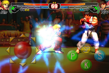 Street Fighter IV for iPhone fights its way into App store