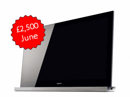 Sony HX903 3DTV priced and dated in UK