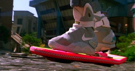 Where is the hoverboard?