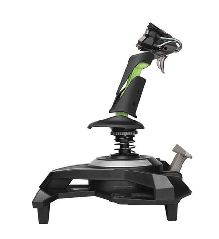 Cyborg F.L.Y. 9 Wireless Flight Stick for Xbox 360 swoops into action