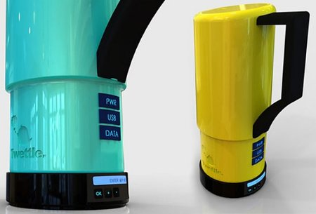 Twettle: The kettle that tweets