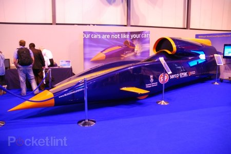 Bloodhound SSC 1000mph car - photo 1