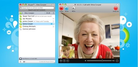 Skype for Mac updates to 2.8