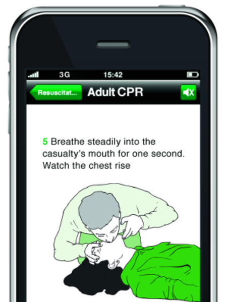 St John Ambulance launches iPhone app