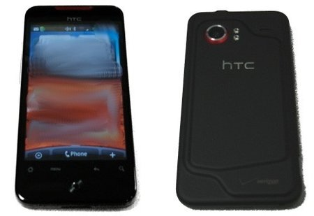 HTC Incredible specced up