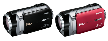 Sanyo launches Xacti VPC-SH1