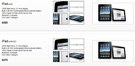 Gibraltar reseller posts iPad UK pricing