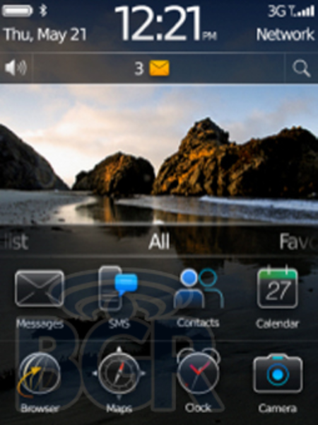 BlackBerry OS 6.0 detailed