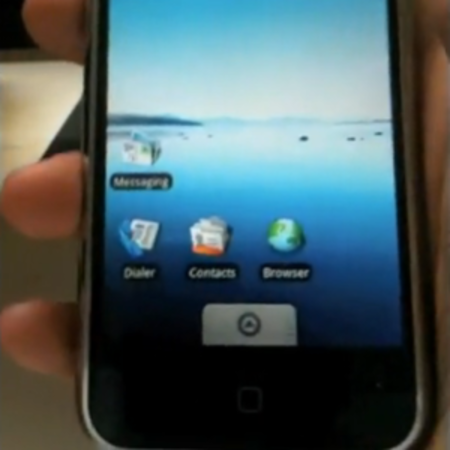 VIDEO: Android installed on an iPhone