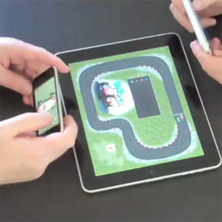 Padracer is first iPad game to use iPhone as controller