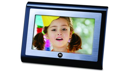 Motorola expands digital photo frame range