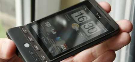 Two Android ROMs crammed onto HTC Hero