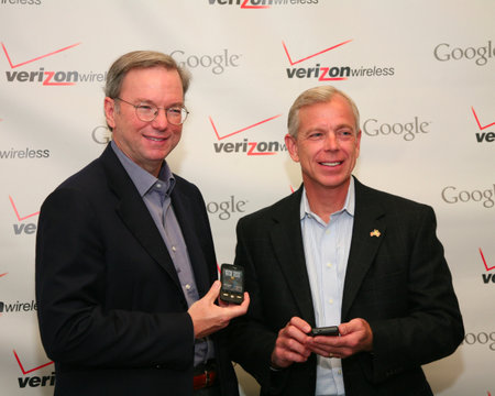 Verizon and Google developing iPad rival