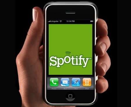 Spotify adds social features for iPhone app