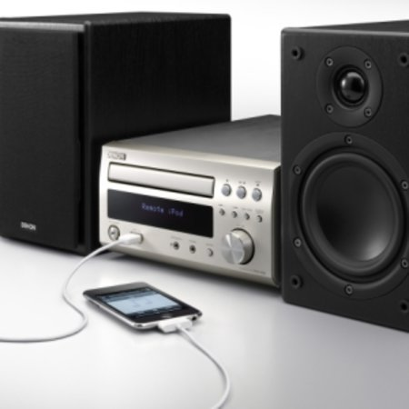 Dinky Denon D-M38DAB gives you pure iPod playback
