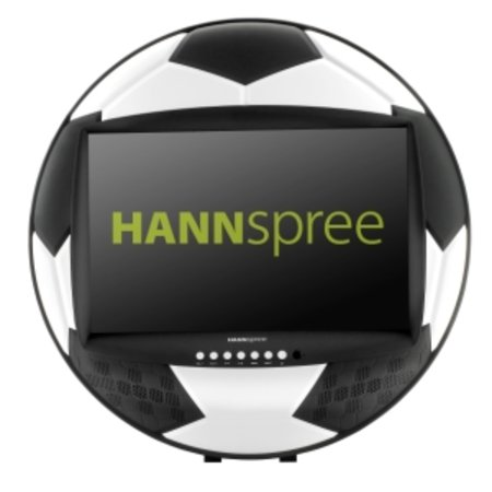 HANNspree gets in the World Cup mood with the HANNSsoccer 28 TV