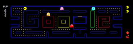 Google gets Pac-Man treatment
