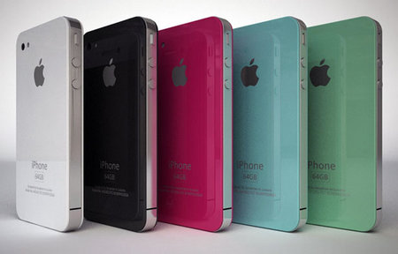 iPhone 4G renders add dash of colour