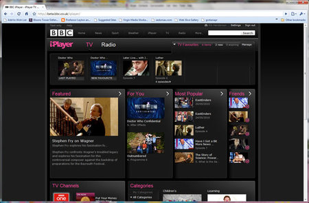 BBC iPlayer improved: social integration services added