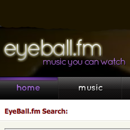 WEBSITE OF THE DAY - eyeball.fm