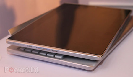 Sneak peak at Asus Eee Pad EP121 12 inch iPad rival