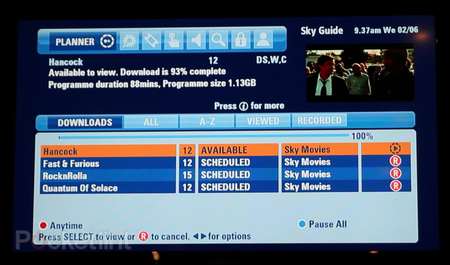 Sky Anytime Plus adds video on demand service to Sky HD - photo 7