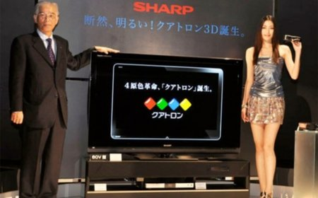 Sharp goes 3D with its Quattron TVs