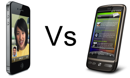 iPhone 4 vs HTC Desire