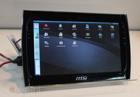 MSI to dabble in Android tablet market?