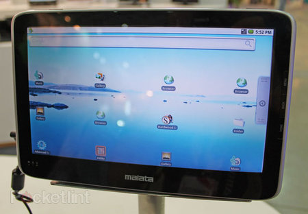 Malata SMB-A1011 Android tablet steals the show at Computex