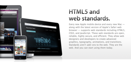 Apple demos power of HTML5