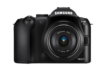 Samsung NX5 next to follow NX10 hybrid DSLR