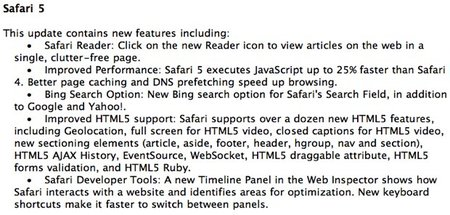 Safari 5 to get WWDC showing? - photo 2