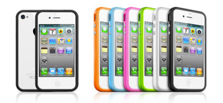 iPhone 4 bumpers give iPhone 4 colourful protection