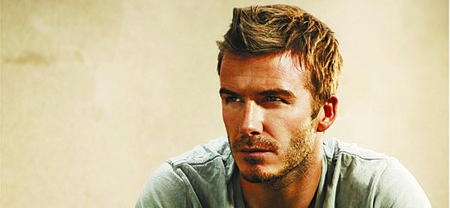 David Beckham signs for Yahoo!