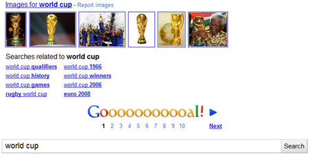 Google gets World Cup fever