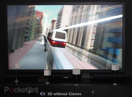 Display Taiwan goes bonkers over 3D TVs without the spex