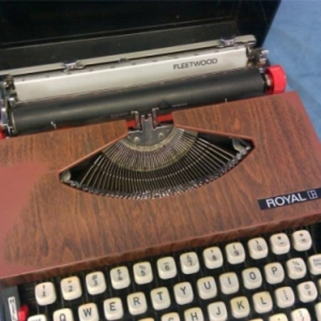 Go retro-cool with a USB typewriter