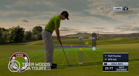 Tiger Woods PGA TOUR 11 - quick play preview