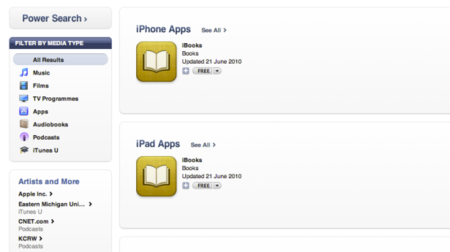 iBooks: Now availble for your iPhone and iPod Touch