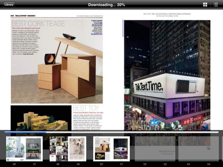 App of the day - Zinio Magazine Newsstand & Reader (iPad)