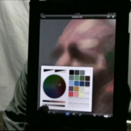 "VIDEO: Amazing iPad Brushes ""painting"""