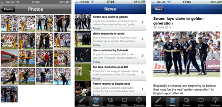 APP OF THE DAY - ECB Cricket (iPhone) - photo 6