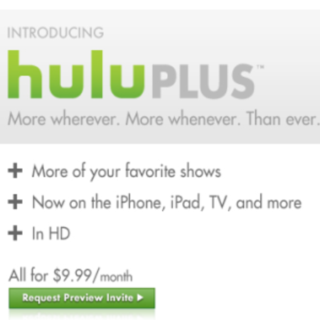 Hulu Plus brings streaming to your iPad, iPhone and TV