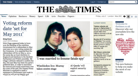 The Times paywall goes up bringing with it the end of the free ride