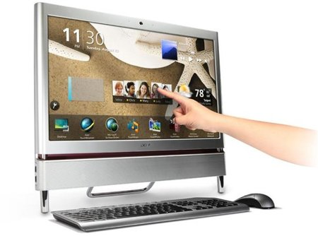 Acer Z5710 and Z5700: New all-in-ones